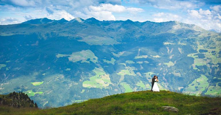 Hochzeitfoto vom Fotografen - Hochzeits Fotorafie